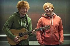 Ed and Rupert