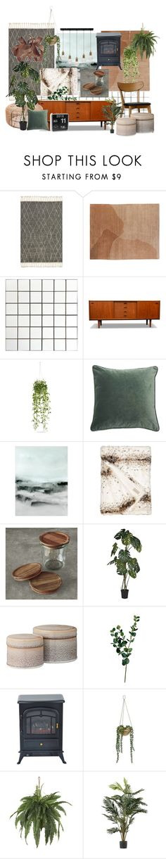 tiny thomas interior by emma-peters on Polyvore featuring interior, interiors, interior design, thuis, home decor, interior decorating, Design Within Reach, Williams-Sonoma, Nearly Natural and Wyld Home