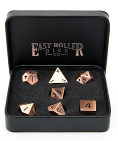 Win Our Legendary Copper Dice Set With Box!