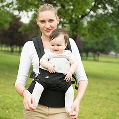 Amazon.com : Baby Carrier- All Seasons 6 Position Soft Carrier Easy  Breastfeeding No