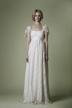 Vintage 1970s style gown: #weddingdress #vintage