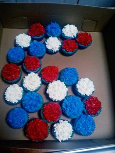 #6 cupcake cake