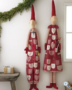 advent calendar elf, These are my most favorite thing ever! Ive been looking at these for days! If you want to get me a Christmas Present Get this! Or a medium sized one :) I would love to get one each year and grow my collection! Absolutely adorable I tell you adorable! Pinned and said by Terra R.