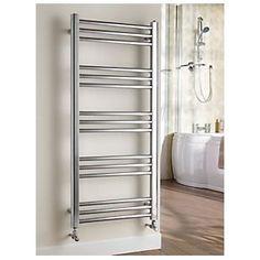 Kudox Timeless Designer Towel Radiator Chrome 1100 x 5060069429735 Towel Radiator, Towel Warmer, Traditional Bathroom, Radiators, Bathroom Interior, Ladder Decor, Chrome, New Homes, Design