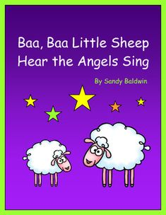 """This easy-to-sing Christmas song comes with some fun learning activities and is sung to the tune of """"Baa, Baa Black Sheep.""""  In this package you'll find:-Song lyrics, musical notation and chords (in keys of C and D)-Actions and hand movements-Sheep craft-Calendar cards (numbered 1 -31) -Cut and paste number match activity sheet-Open-ended activity sheet  -Fill-in-the-blank sheets for PreK - Grade 2 reading/writing practice-Lesson plan ideas for Early Primary Reading, Music, Art and…"""