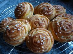 Schwedische Zimtschnecken - Glutenfrei Backen und Kochen bei Zöliakie. Glutenfreie Rezepte, laktosefreie Rezepte, glutenfreies Brot