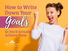 How to write down your goals and fulfill them. We've got some great encouragement for next steps toward how to actually achieve your goals. Christian Women, Christian Living, Christian Life, Best Books To Read, Good Books, Life Organization, Organizing, Goal Setting Worksheet, Biblical Womanhood