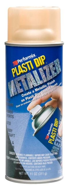 A Warehouse Full! - Plasti Dip Gold Metalizer Spray 11 oz. add metallic look to matte Plasti Dip, $6.89 (http://www.awarehousefull.com/plasti-dip-gold-metalizer-spray-11-oz-add-metallic-look-to-matte-plasti-dip/)