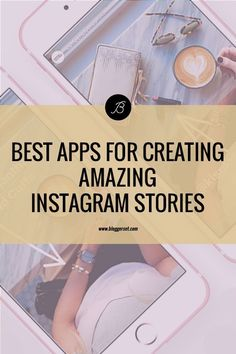 Best Apps For Creating Amazing Instagram Stories Instagram Posting App, Instagram Planner App, Instagram Story App, Best Instagram Stories, Instagram Editing Apps, Instagram Marketing Tips, Film App, Best Editing App, App Story