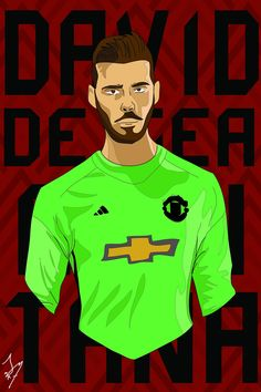 David De Gea Minimal | Illustration | Pinterest | Man united, Football players and Manchester ...