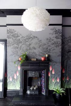 edwardian fireplace bedroom brook living victorian greene upper street wall spaces making