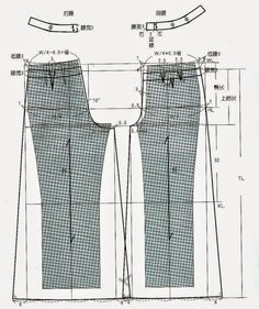 PANTS ( method of pattern making) – modelist kitapları PANTS ( method of pattern making) – modelist kitapları Free Printable Sewing Patterns, Elephant Pants, Blog Couture, Sewing Pants, Baby Dress Patterns, Modelista, Japanese Sewing, Pattern Drafting, Pants Pattern
