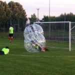 Torneo di Bubble Football per ricordare Matteo a Redondesco (MN) - maggio 2015