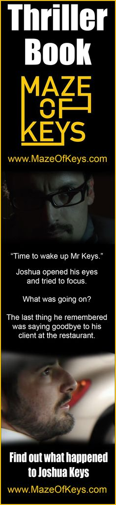 Book 1 Maze of Keys Get it on Amazon Today! http://amzn.to/1GhlG2v