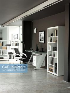 Contemporary study Contemporary Home Offices, Contemporary Style, Study Space, Interior Photography, Home Office, Modern Home Offices