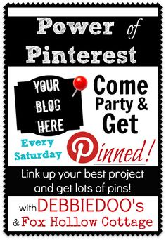 Power of Pinterest weekly link party