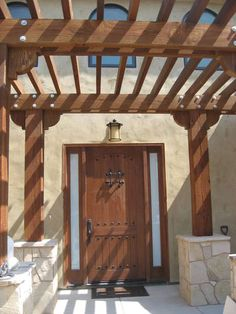 Southwest style home. Check out ETO Doors for interior or exterior doors for any home!