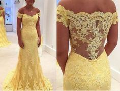 Outlet Distinct Prom Dresses Lace Elegant Mermaid Yellow Lace Off Shoulder Long Prom Dress Prom Dress, Prom Dresses Lace, Prom Dresses Yellow, Long Prom Dresses, Mermaid Prom Dresses Prom Dresses 2019 Dresses Elegant, Beautiful Dresses, Formal Dresses, Formal Wear, Banquet Dresses, Formal Prom, Evening Party Gowns, Lace Evening Dresses, Tulle Prom Dress