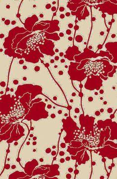 poppies (florence-broadhurst-wallpapers-rugs-and-fabrics1 - happybuddhabreathing))
