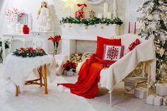 Новогодняя фотозона фотостудия эдемский сад Рождество фотография