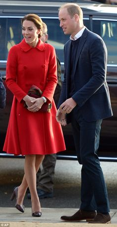 Kate and William today...