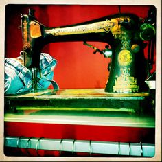 Obsessed with vintage sewing machines