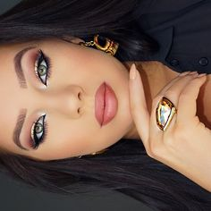 """Beautiful look @klaudiabadura BROWS: #BrowWiz in Soft Brown SCULPT: #ContourKit LIPS: @gerardcosmetics lipstick in 1995 #anastasiabeverlyhills #anastasiabrows"" Photo taken by @anastasiabeverlyhills on Instagram, pinned via the InstaPin iOS App! http://www.instapinapp.com (06/04/2015)"
