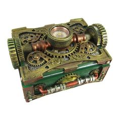 steampunk... Old box craft project. Yes please.
