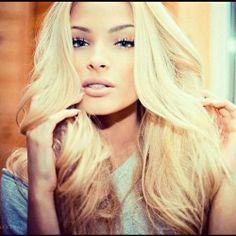 Image uploaded by leila. Find images and videos about girl, love and cute on We Heart It - the app to get lost in what you love. Alena Shishkova, Non Blondes, Hair Heaven, Dream Hair, Favim, About Hair, Hair Dos, Pretty Hairstyles, Pretty Face