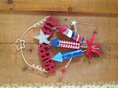 Simple 4th of July decoration