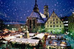 Kerst markt
