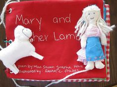 mary had a little lamb quiet book