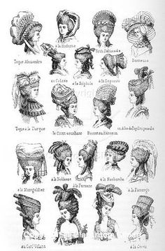 Edith Chartier uploaded this image to '18th century costumes/Hats and hairstyles'. See the album on Photobucket.