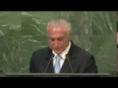 """Vídeo: Na ONU, Temer diz que """"somos um país que acreditamos no poder do Diabo"""""""