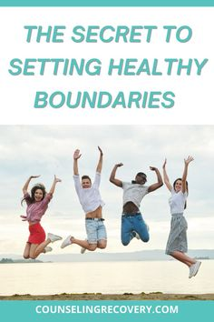 Setting healthy boundaries takes work but it makes relationships so much healthier! Boundaries are limits you set for yourself that determine what you will do - but the secret to setting boundaries is in the follow through. Find out more in this video! #boundaries #limits #relationships #recovery #boundary #codependency #codependent #sobriety Relationship Problems, Relationship Advice, Boundaries Quotes, Codependency Recovery, Relapse Prevention, Setting Boundaries, Improve Communication, Coping With Stress, Improve Mental Health