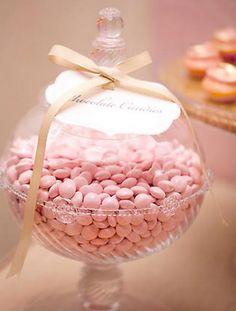pink candies @Ann Taylor @Style Me Pretty
