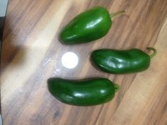 """Giant"" Jalapeno peppers"