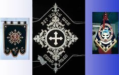 CENTRO DE DISTRIBUCION COFRADE: ESTANDARTES BORDADO APLICACION