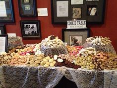 Pittsburgh Wedding Cookie Table - catered by Rania\'s Catering ...