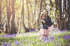 Project 365 Lifestyle Child Family Portrait Photography Essex Bluebells Spring