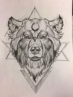 Art work sketch By J. Wolfe