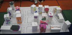 3D neighborhood kindergarten map