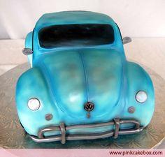 Cool car cake =]