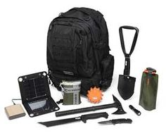Bug Out Bag Kit. Very cool website as well. Lots of neat stuff!