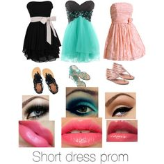"""Short dress prom"" by ambarb on Polyvore"