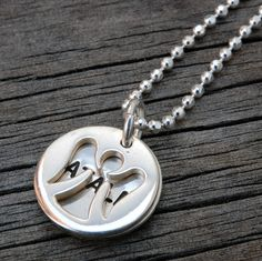 Heart On Your Wrist - Angel Charm and Name Disc Necklace, $66.00 (http://www.heartonyourwrist.com/angel-charm-and-name-disc-necklace/)