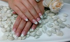 French Nails, French Naegel, Gelnaegel, Gelnails French Nails, Beauty, Beleza, French Tips, French Manicures, White Tip Nails