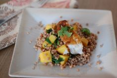 Recipe: Moroccan Fish with Mango and Couscous