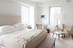 Bedroom... Hans wegner papa bear chair