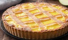 Ricette dolci facili come la crostata crema e mele che ovviamente è anche buonissima Food And Drink, Cooking, Desserts, Anna, Cakes, Cream, Cake Land, Kitchen, Tailgate Desserts